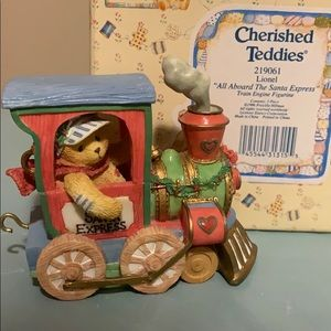 Other - Cherished Teddies-All Aboard The Santa Express